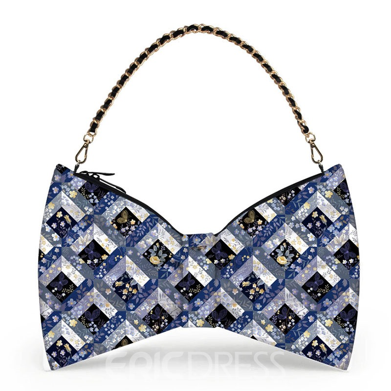 Ericdress Bowknot Shape Zipper Women Clutch