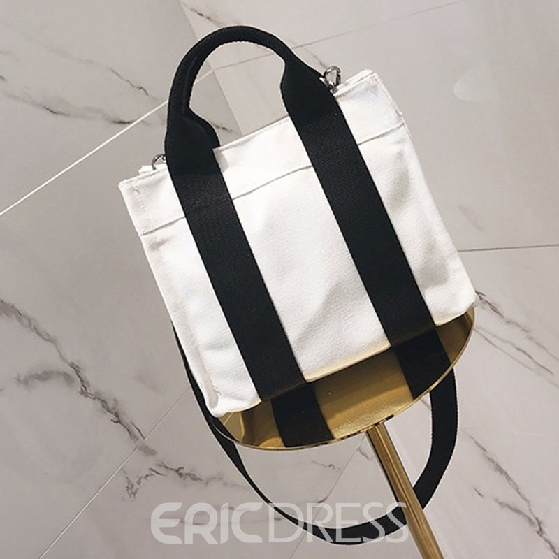 Ericdress Casual Vertical Stripes Women Crossbody Bag