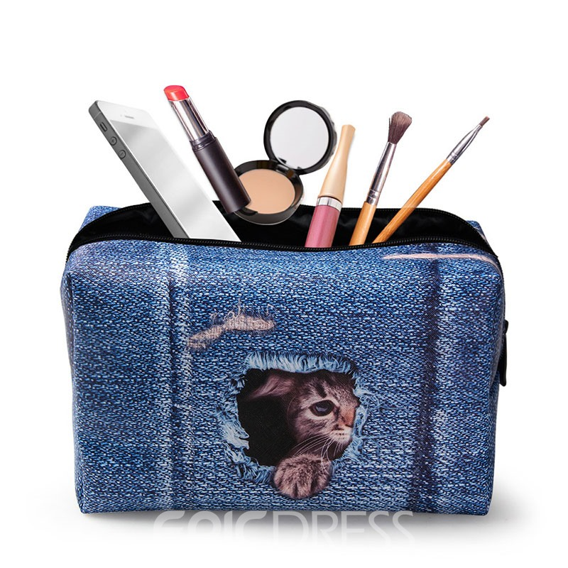 Ericdress Korean Style PU Cosmetic Bag