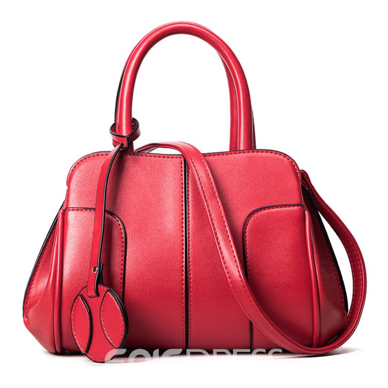Ericdress Ladylike Pure Color Pillow Women Satchel