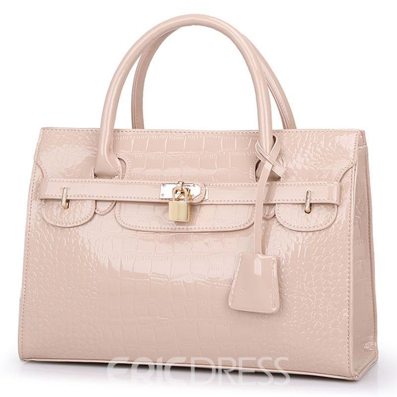 Ericdress Occident Style Croco-Embossed Women Handbag