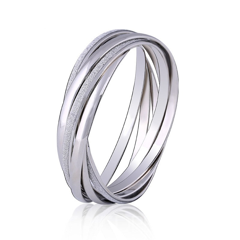 Ericdress Alloy Multilayer Circle Women's Bracelet