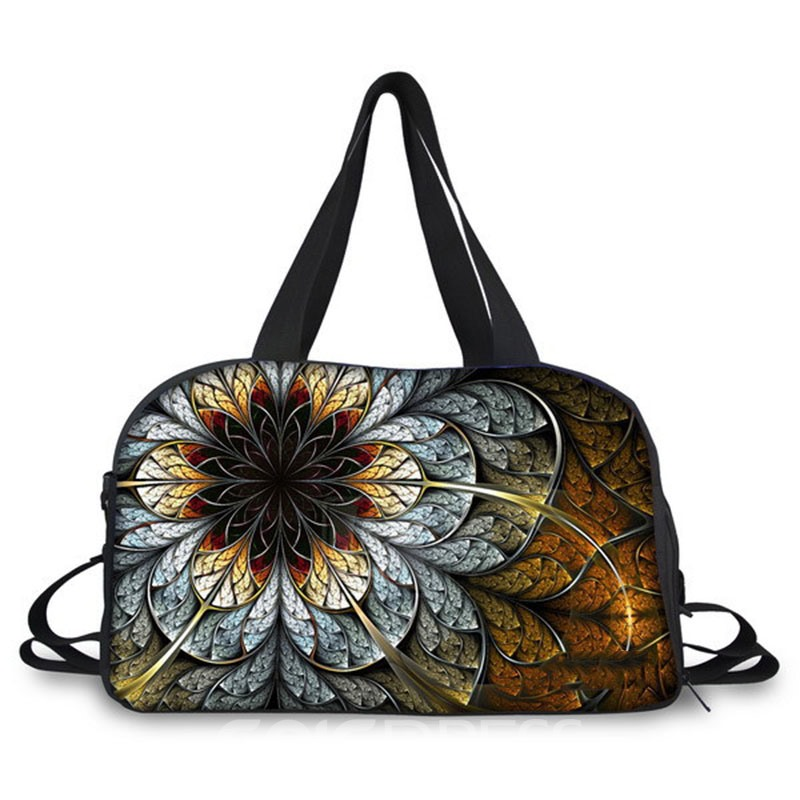 Ericdress Stylish Floral Printing High-capacity Travelling Bag