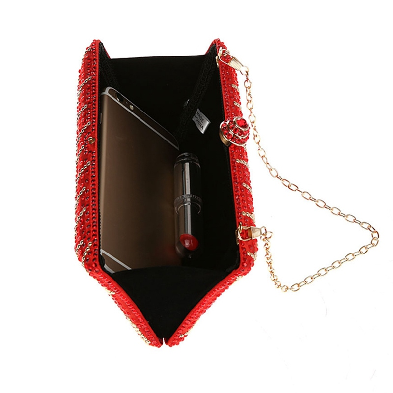 Ericdress Retro Exquisite Rhinestone Evening Clutch