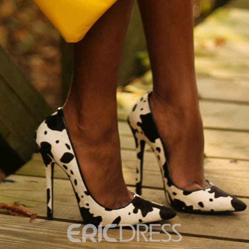Ericdress New Style Color Block Stiletto Pumps