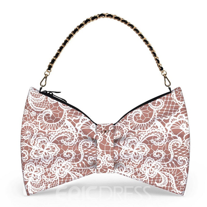 Ericdress Fashion Lace Printing Evening Clutch