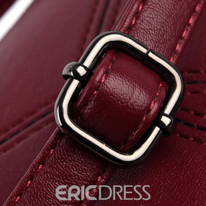 Ericdress Korean Style Patchwork Design Crossbody Bag