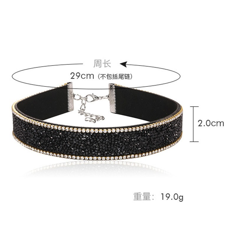 Ericdress OL Style Fully Jewelled Elegant Women's Choker