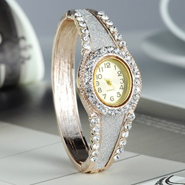 Ericdress Royal Style Rhinestone Women's Waistwatch