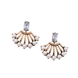 Ericdress Elegant Fan-Shaped Women's Earring