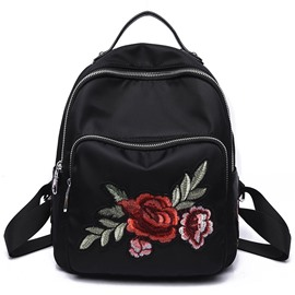 Ericdress 3D Embroidered Dragonfly Design Backpack
