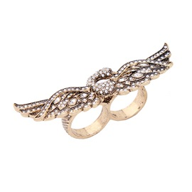 Ericdress Retro Rhinestone Swan Ring for Women