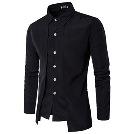 Ericdress Lapel Single-Breasted Men's Jacket