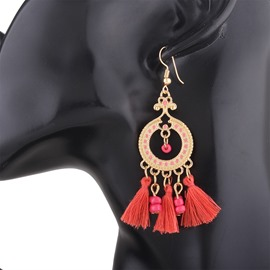 Ericdress Bohemia Style Tassel Drop Earring for Women