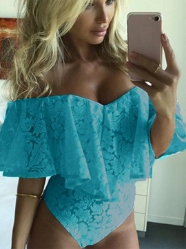 Ericdress Lace Shorts Jumpsuits Pants