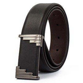 Ericdress Business Cowhide Belt for Men