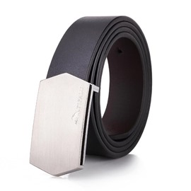 Ericdress Smooth Buckle Geniue Leather Men's Belt