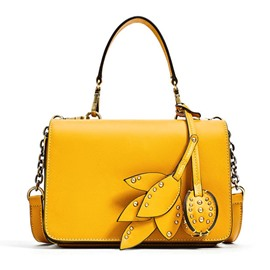Ericdress Foliage Decoration Chain Women Handbag