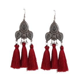 Ericdress Retro Tassel Women's Earring