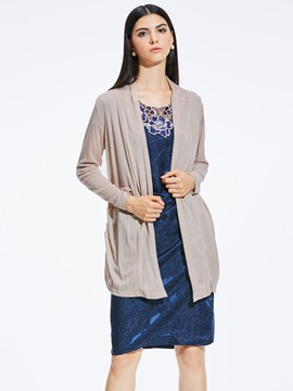 Ericdress Loose Thin Cardigan Wrapped Knitwear