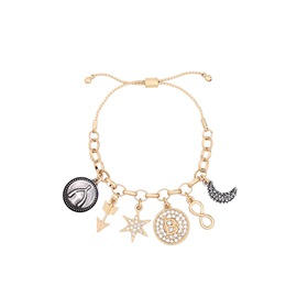 Ericdress Vintage Alloy Bracelet with Pendant