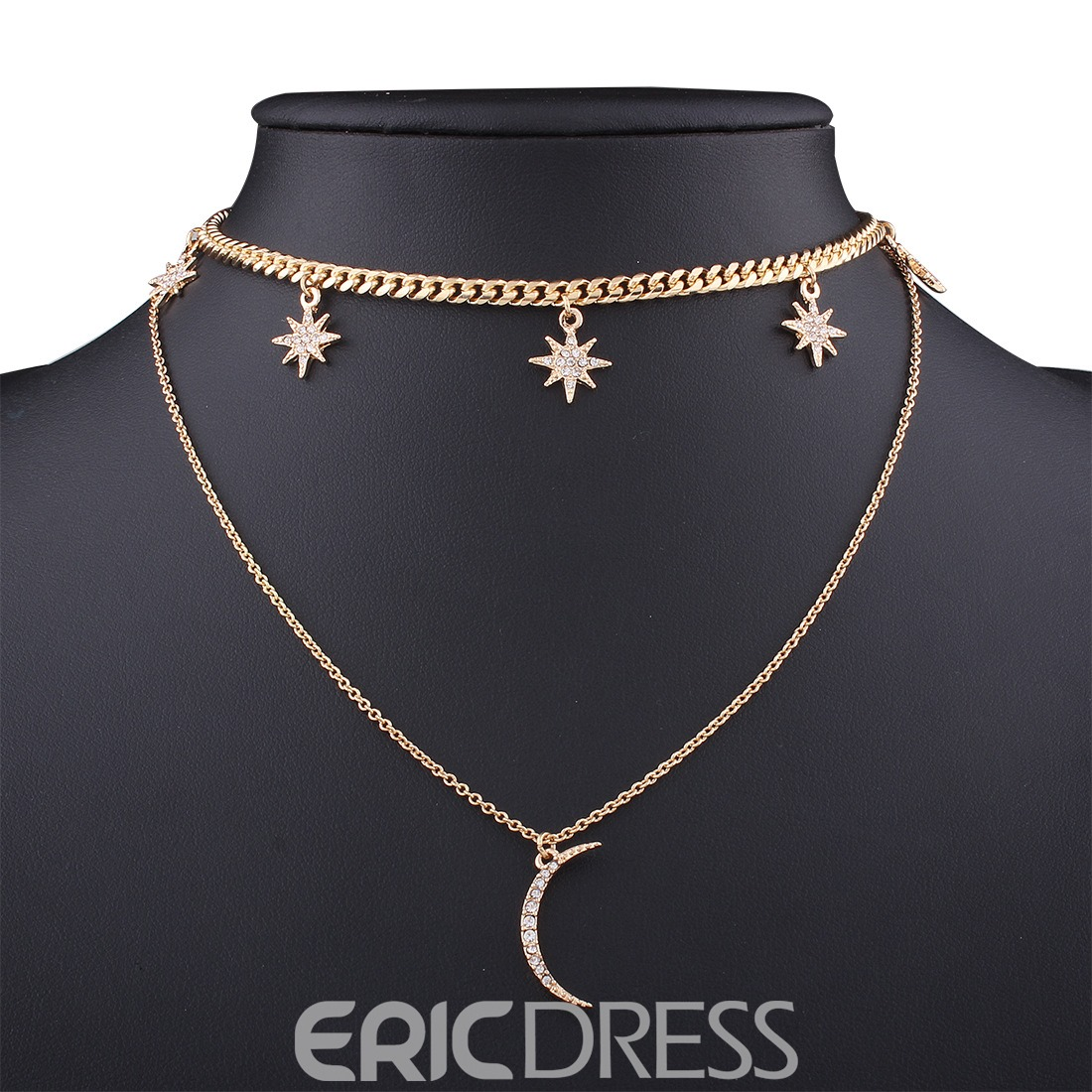 Ericdress Moon Pendant All Match Women's Necklace