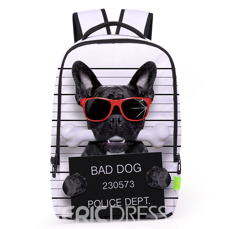 Ericdress Hip Hop Style 3D Printing Backpack