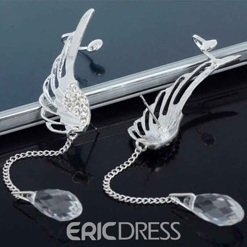 Ericdress Alluring Angel's Wing Women's Ear Cuff