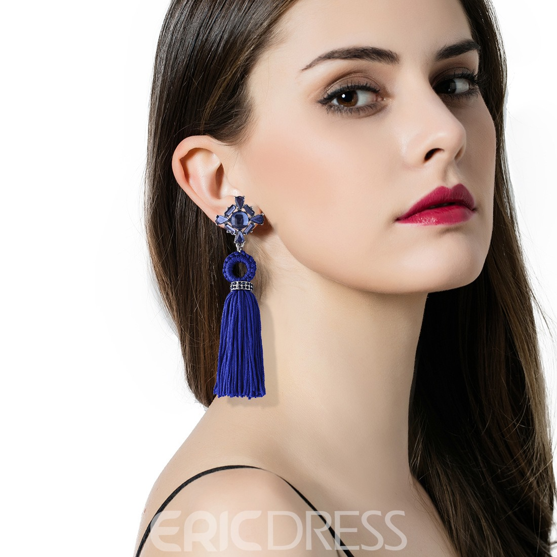 Ericdress Chic Handmade Tassel Earring for Women