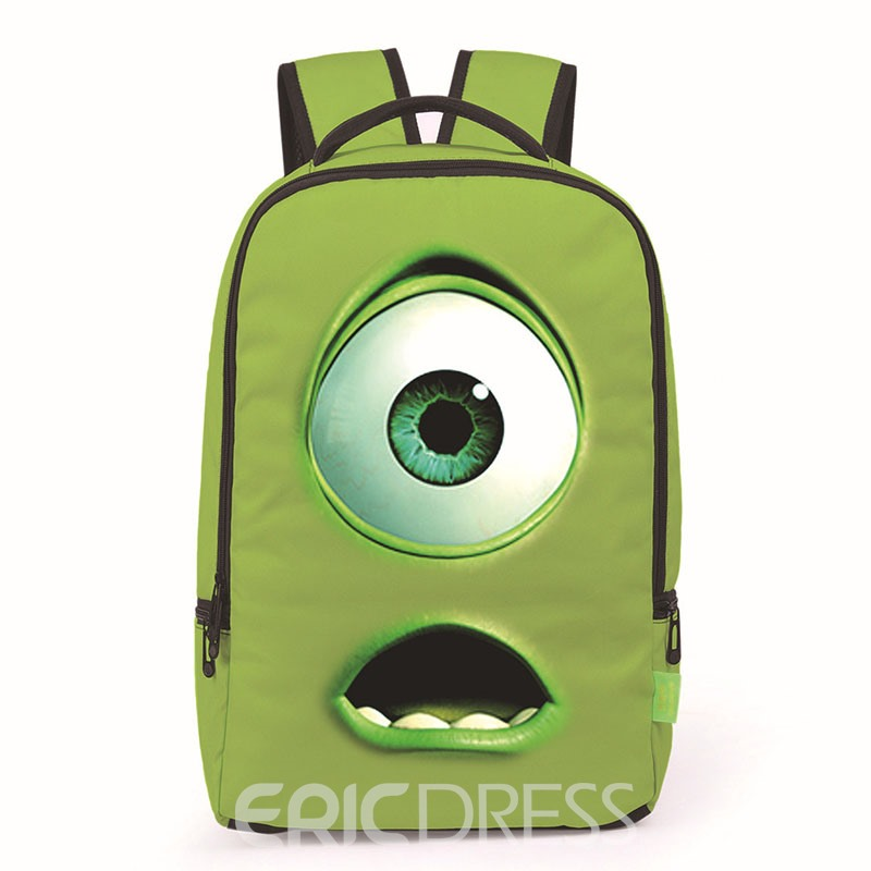 Ericdress Unusual Style 3D Printing Backpack