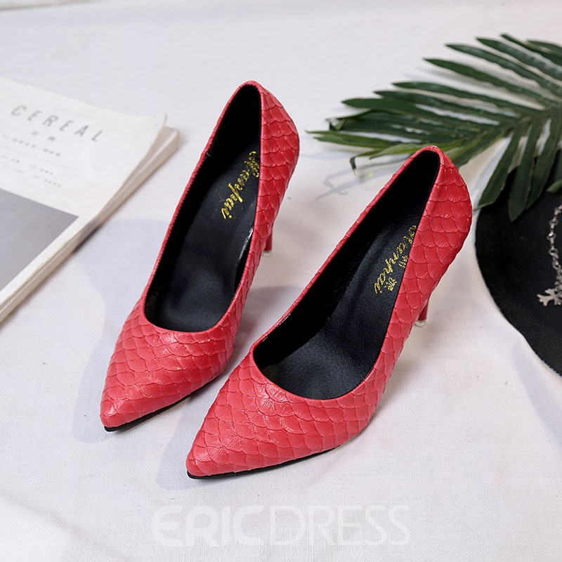 Ericdress Pointed Toe Plain Women's Pumps