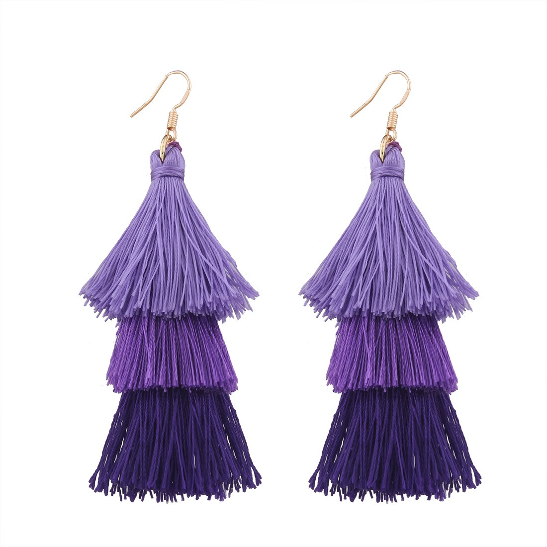 Ericdress Bohemia Style Long Tassel Women's Earring