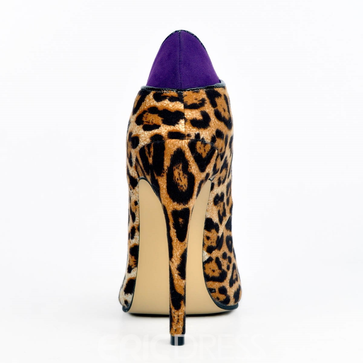 Ericdress Leopard Pointed Toe Stiletto Heel Pumps