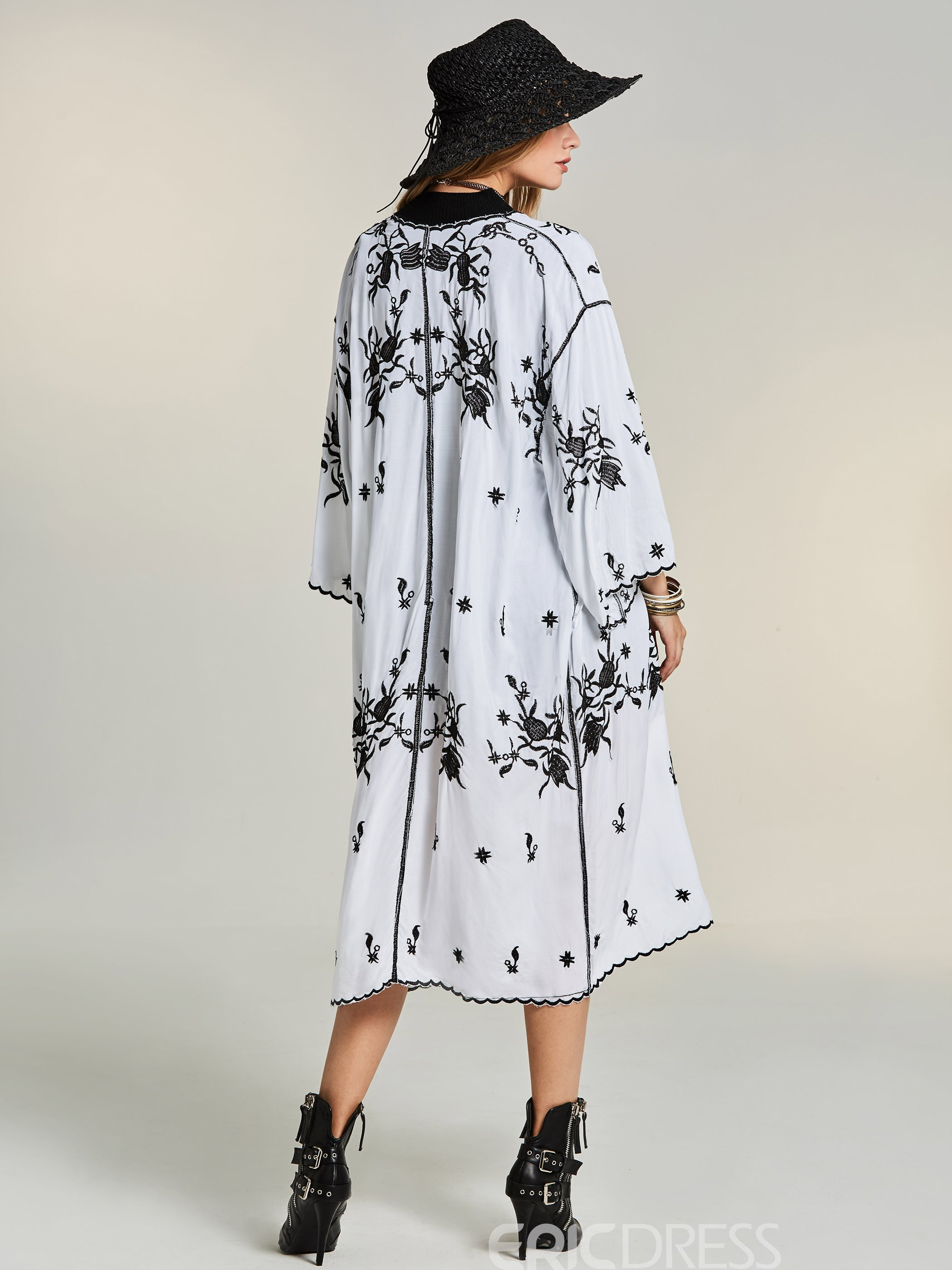 Ericdress Bohoartist Thin Floral Wrapped Cape