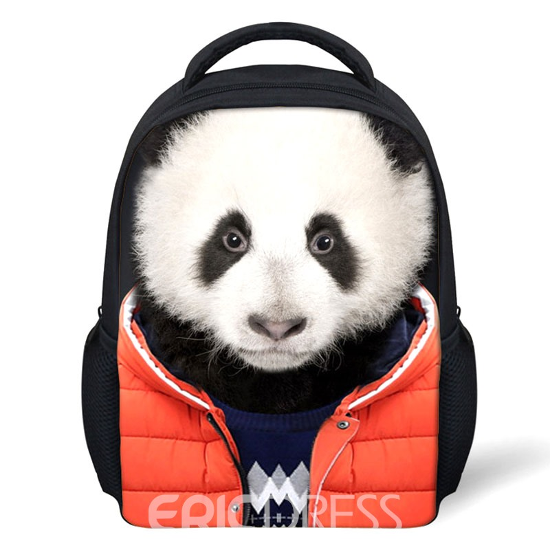 Ericdress 3D Animal Printing Zipper Children Backpack