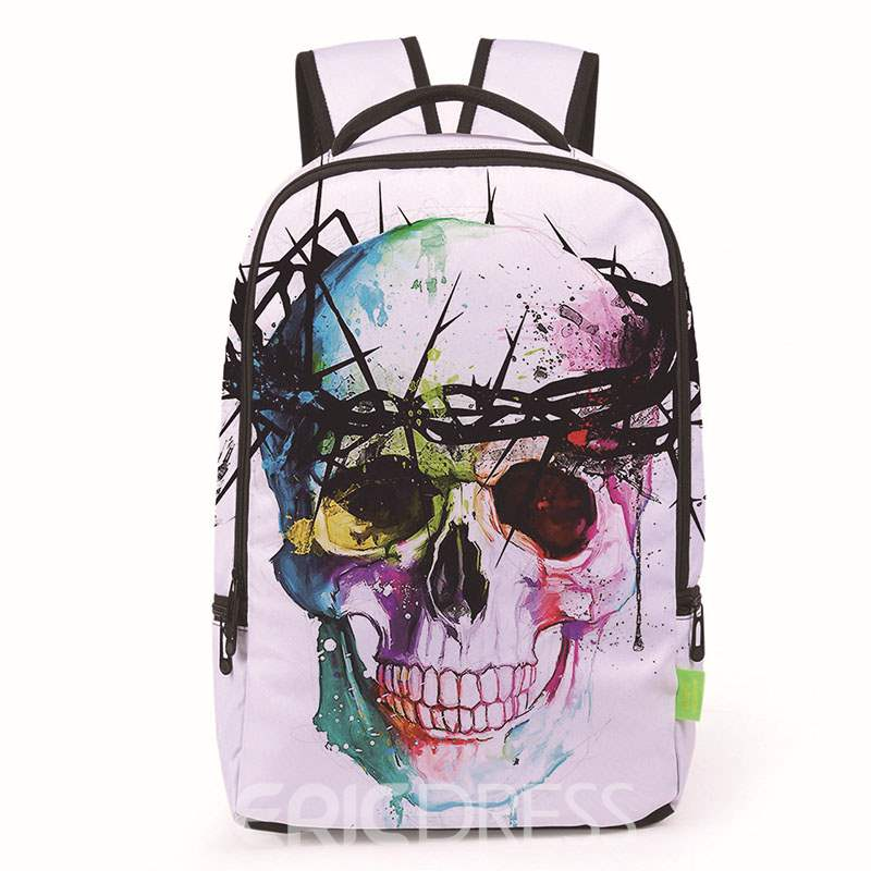 Ericdress Fantastic 3D Printing Pattern Backpack