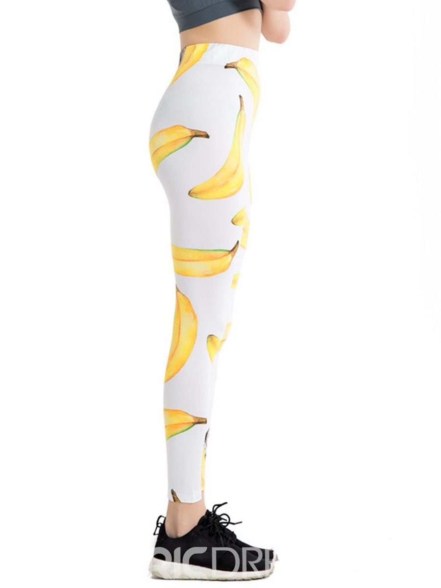 Ericdress Print Fruit Leggings Pants