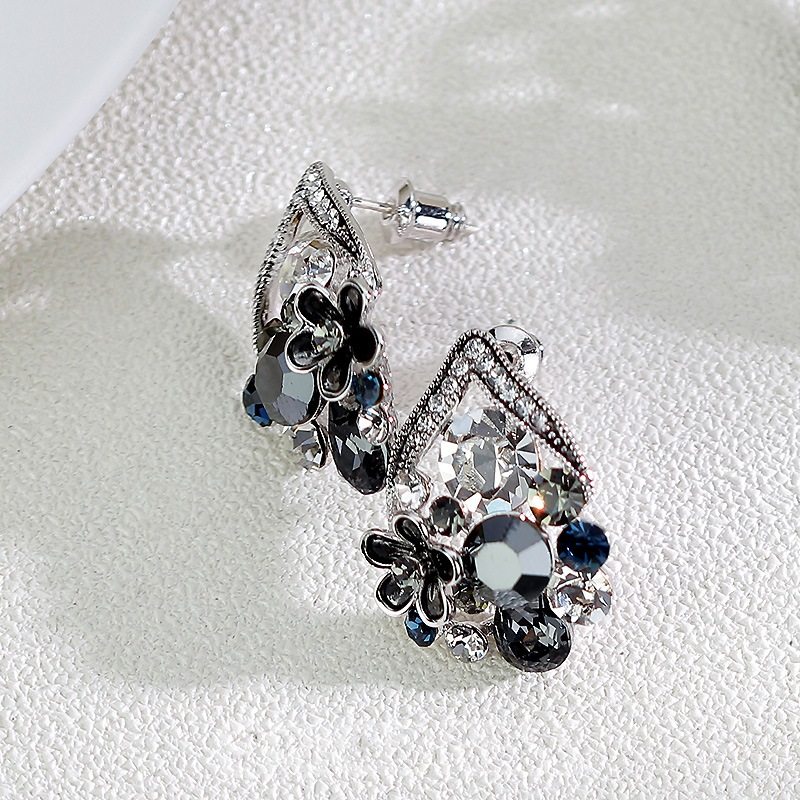 Ericdress S925 Sterling Silver Vintage Women's Earring