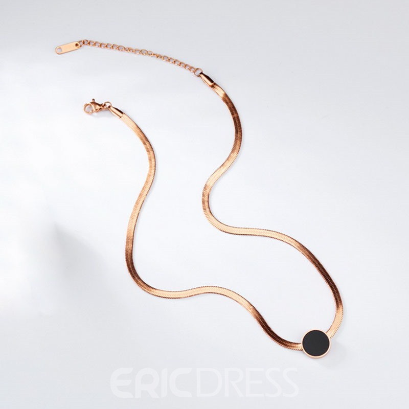 Ericdress Concise Design Choker Necklace for OL