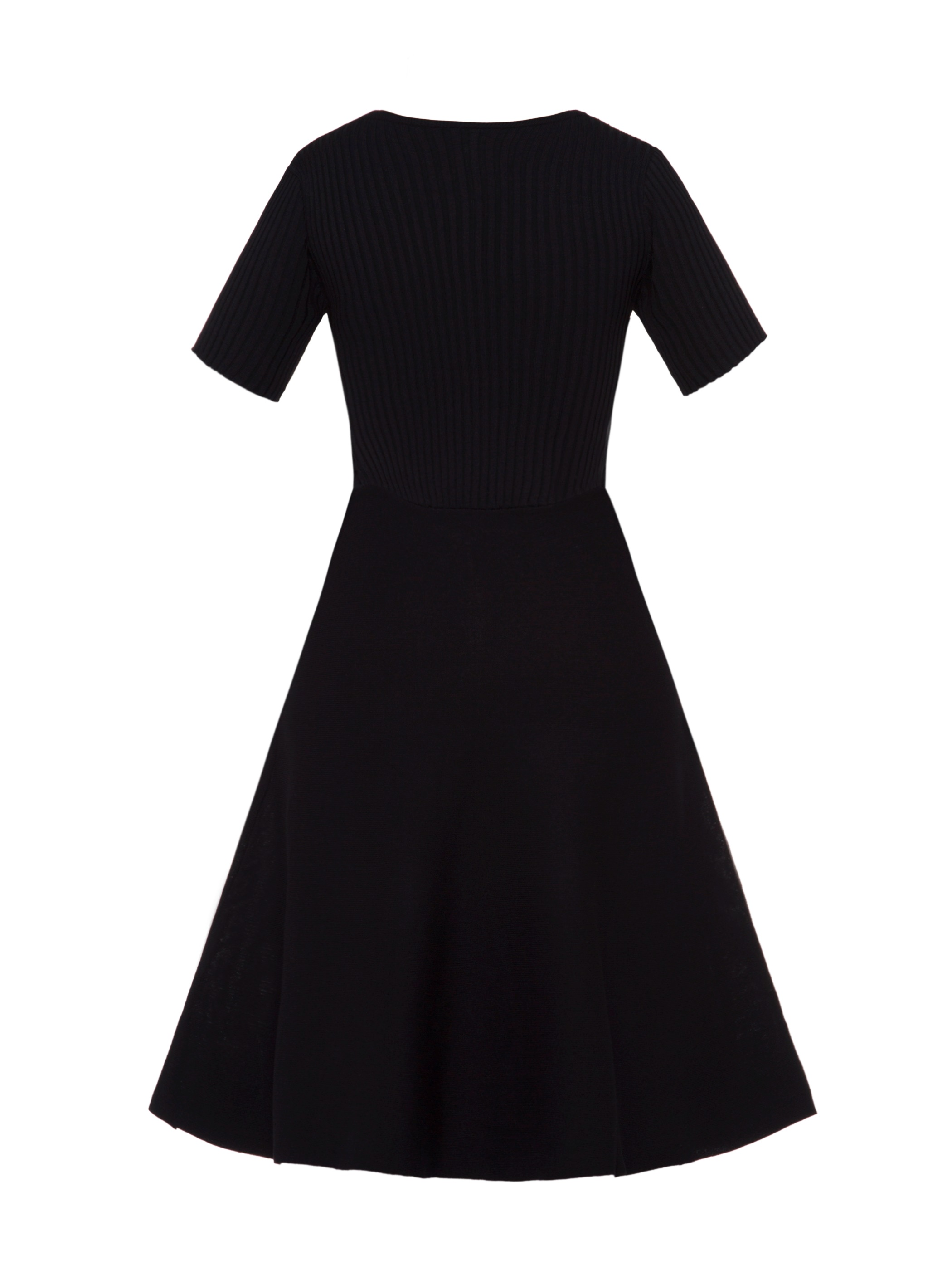 Ericdress Round Neck Plain Knee-Length A-Line Dress