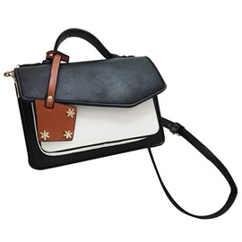Ericdress Retro Color Block Square Crossbody Bag