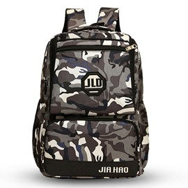 Ericdress Large-Capacity Camouflage Pattern Unisex Backpack