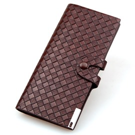 Ericdress Long Type Woven Pattern Men's Wallet