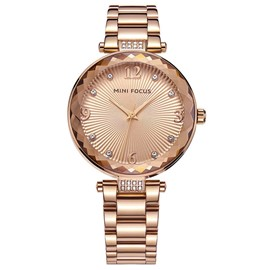 Ericdress High-End Diamante Round Case Women's Watch