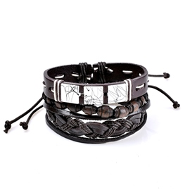 Ericdress All Match Leather Women's Bracelet