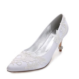 Ericdress Rhinestone Plain Slip-On Wedding Shoes