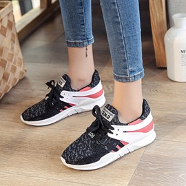 Ericdress Mesh Color Block Platform Women's Sneakers