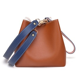 Ericdress Versatile Color Block Crossbody Bag
