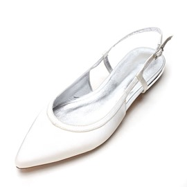 Ericdress Slingback Strap Closed Toe Plain Wedding Shoes
