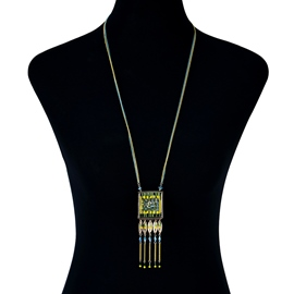 Ericdress Amazing Tassel Long Necklace for Women